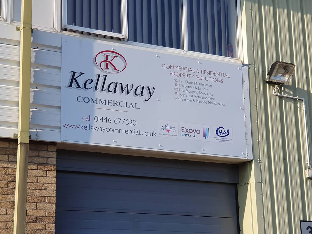 Kellaway Commercial Offices: Fire stopping across south wales